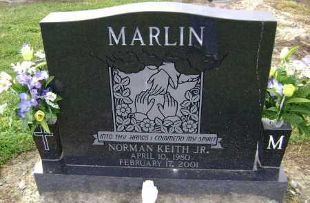 MARLIN, JR., NORMAN KEITH - Lawrence County, Arkansas | NORMAN KEITH MARLIN, JR. - Arkansas Gravestone Photos