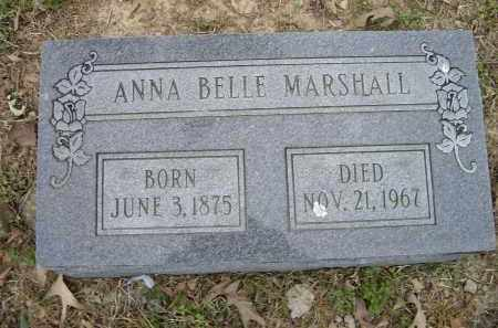 MARSHALL, ANNA BELLE - Lawrence County, Arkansas | ANNA BELLE MARSHALL - Arkansas Gravestone Photos
