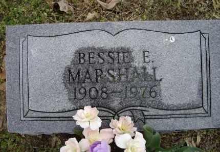 MARSHALL, BESSIE E. - Lawrence County, Arkansas | BESSIE E. MARSHALL - Arkansas Gravestone Photos