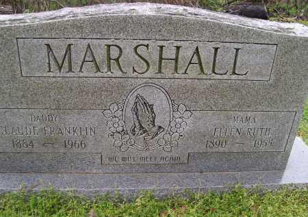 TRUXLER MARSHALL, ELLEN RUTH - Lawrence County, Arkansas | ELLEN RUTH TRUXLER MARSHALL - Arkansas Gravestone Photos