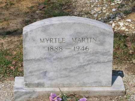 MARTIN, MYRTLE - Lawrence County, Arkansas | MYRTLE MARTIN - Arkansas Gravestone Photos