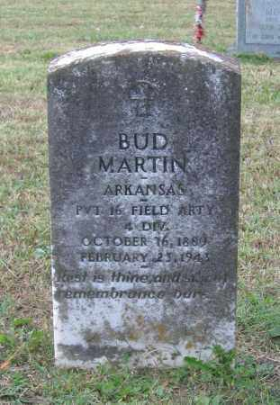 MARTIN (VETERAN WWI), BUD NORMAN - Lawrence County, Arkansas | BUD NORMAN MARTIN (VETERAN WWI) - Arkansas Gravestone Photos