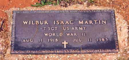 MARTIN (VETERAN WWII), WILBUR ISAAC - Lawrence County, Arkansas | WILBUR ISAAC MARTIN (VETERAN WWII) - Arkansas Gravestone Photos