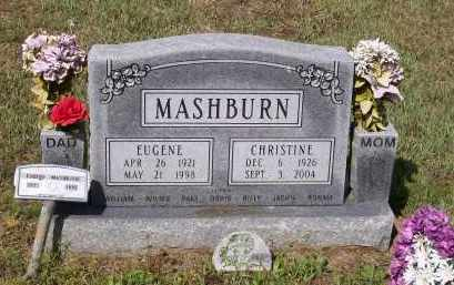 MASHBURN, DELMA CHRISTINE - Lawrence County, Arkansas | DELMA CHRISTINE MASHBURN - Arkansas Gravestone Photos