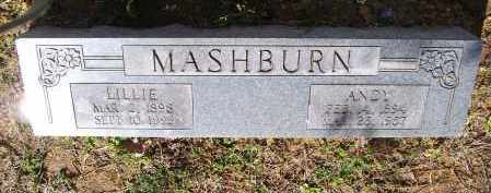 "MASHBURN, JAMES ANDREW ""ANDY"" - Lawrence County, Arkansas 