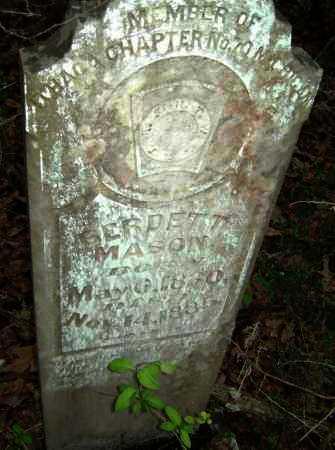 MASON, BERDETT - Lawrence County, Arkansas   BERDETT MASON - Arkansas Gravestone Photos