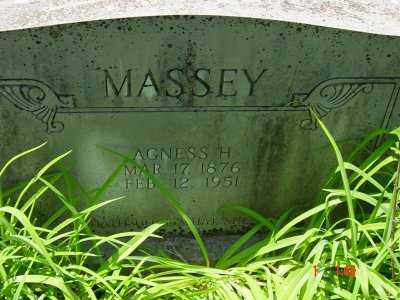MASSEY, AGNESS HAZEL - Lawrence County, Arkansas | AGNESS HAZEL MASSEY - Arkansas Gravestone Photos
