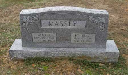 HUGG MASSEY, ETHEL VICTORIA - Lawrence County, Arkansas | ETHEL VICTORIA HUGG MASSEY - Arkansas Gravestone Photos