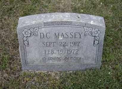 "MASSEY, DEWAN C.  ""D. C."" - Lawrence County, Arkansas | DEWAN C.  ""D. C."" MASSEY - Arkansas Gravestone Photos"
