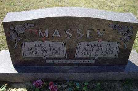 "MASSEY, EDWARD LONES ""EDD"" - Lawrence County, Arkansas | EDWARD LONES ""EDD"" MASSEY - Arkansas Gravestone Photos"