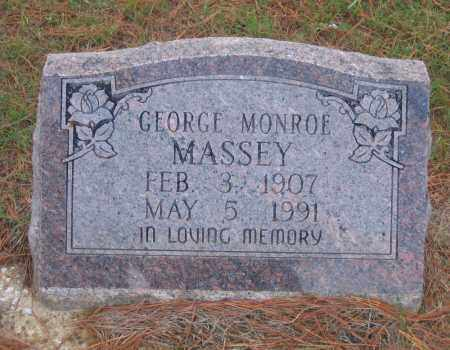 MASSEY, GEORGE MONROE - Lawrence County, Arkansas | GEORGE MONROE MASSEY - Arkansas Gravestone Photos