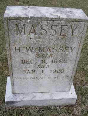 "MASSEY, HENDERSON (HENRI) WARREN ""H. W."" - Lawrence County, Arkansas | HENDERSON (HENRI) WARREN ""H. W."" MASSEY - Arkansas Gravestone Photos"
