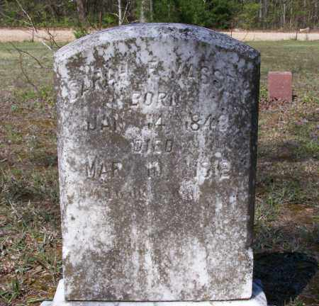 WHITE, SARAH F. - Lawrence County, Arkansas | SARAH F. WHITE - Arkansas Gravestone Photos