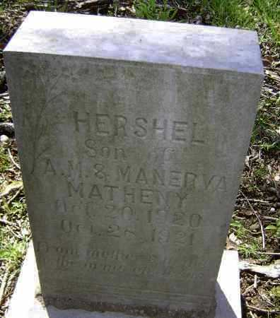 MATHENY, HERSHEL - Lawrence County, Arkansas | HERSHEL MATHENY - Arkansas Gravestone Photos