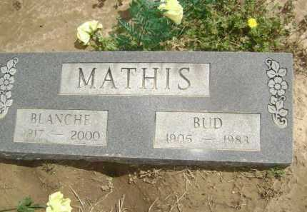 "MATHIS, LUDY MARION ""BUD"" - Lawrence County, Arkansas 