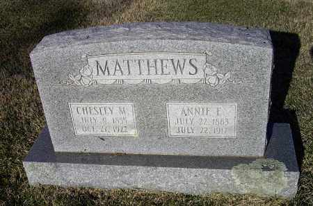 MATTHEWS, ANNE ELIZABETH - Lawrence County, Arkansas | ANNE ELIZABETH MATTHEWS - Arkansas Gravestone Photos