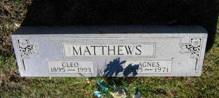 MATTHEWS, GEORGE CLEO - Lawrence County, Arkansas | GEORGE CLEO MATTHEWS - Arkansas Gravestone Photos