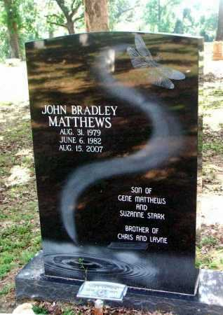 MATTHEWS, JOHN BRADLEY - Lawrence County, Arkansas | JOHN BRADLEY MATTHEWS - Arkansas Gravestone Photos