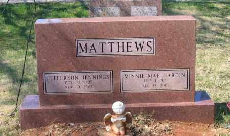 MATTHEWS, MINNIE MAE - Lawrence County, Arkansas | MINNIE MAE MATTHEWS - Arkansas Gravestone Photos