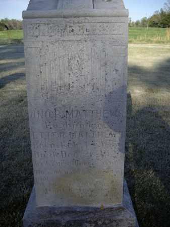 MATTHEWS, JOHN BELLE - Lawrence County, Arkansas   JOHN BELLE MATTHEWS - Arkansas Gravestone Photos