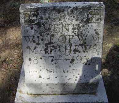 "MATTHEWS, MARY LAVENIA ""VENIE"" - Lawrence County, Arkansas 
