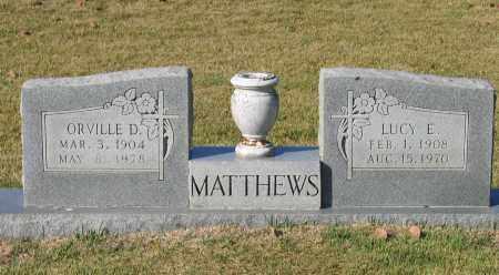 DAVIS MATTHEWS, LUCY E. - Lawrence County, Arkansas | LUCY E. DAVIS MATTHEWS - Arkansas Gravestone Photos