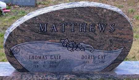 MATTHEWS, THOMAS GALE - Lawrence County, Arkansas | THOMAS GALE MATTHEWS - Arkansas Gravestone Photos