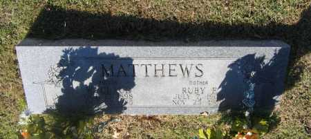 MATTHEWS, WILEY CLAUD - Lawrence County, Arkansas | WILEY CLAUD MATTHEWS - Arkansas Gravestone Photos