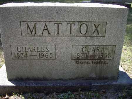 MATTOX, CLARA - Lawrence County, Arkansas | CLARA MATTOX - Arkansas Gravestone Photos