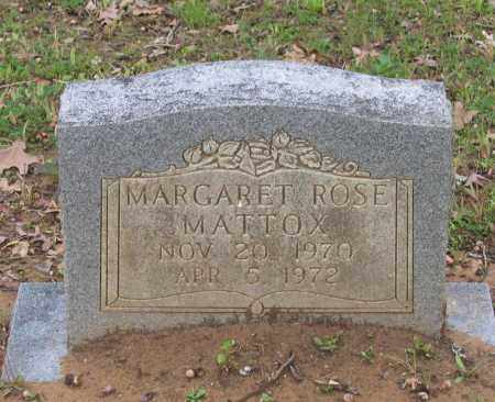 MATTOX, MARGARET ROSE - Lawrence County, Arkansas | MARGARET ROSE MATTOX - Arkansas Gravestone Photos