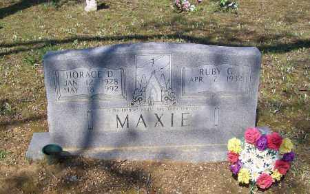 MAXIE, HORACE D. - Lawrence County, Arkansas | HORACE D. MAXIE - Arkansas Gravestone Photos