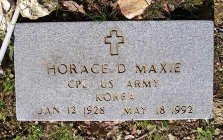 MAXIE (VETERAN KOR), HORACE D. - Lawrence County, Arkansas | HORACE D. MAXIE (VETERAN KOR) - Arkansas Gravestone Photos