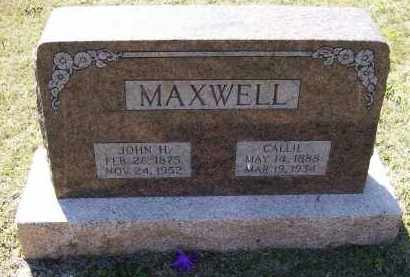 MAXWELL, CALLIE - Lawrence County, Arkansas | CALLIE MAXWELL - Arkansas Gravestone Photos