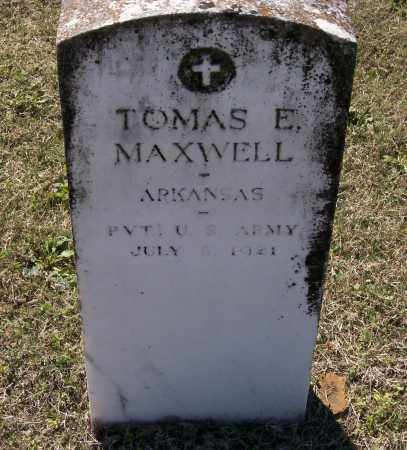 MAXWELL (VETERAN WWI), THOMAS EDGAR - Lawrence County, Arkansas | THOMAS EDGAR MAXWELL (VETERAN WWI) - Arkansas Gravestone Photos