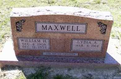 MAXWELL, WILLIAM HENRY - Lawrence County, Arkansas | WILLIAM HENRY MAXWELL - Arkansas Gravestone Photos