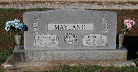 MAYLAND, HARVEY CLINE - Lawrence County, Arkansas | HARVEY CLINE MAYLAND - Arkansas Gravestone Photos