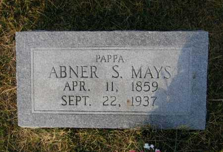 MAYS, ABNER S. - Lawrence County, Arkansas | ABNER S. MAYS - Arkansas Gravestone Photos