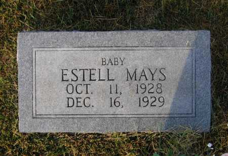 MAYS, ESTELL - Lawrence County, Arkansas | ESTELL MAYS - Arkansas Gravestone Photos
