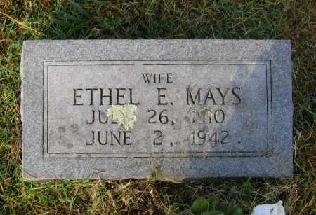 MAYS, ETHEL E. - Lawrence County, Arkansas | ETHEL E. MAYS - Arkansas Gravestone Photos