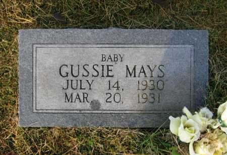 MAYS, GUSSIE - Lawrence County, Arkansas | GUSSIE MAYS - Arkansas Gravestone Photos