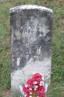 MCBRIDE (VETERAN WWI), GEORGE - Lawrence County, Arkansas | GEORGE MCBRIDE (VETERAN WWI) - Arkansas Gravestone Photos