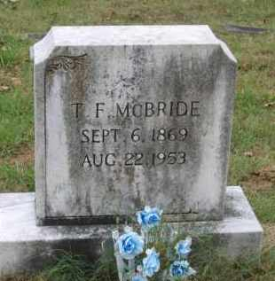 "MCBRIDE, THOMAS FRANKLIN ""T.F."" - Lawrence County, Arkansas 