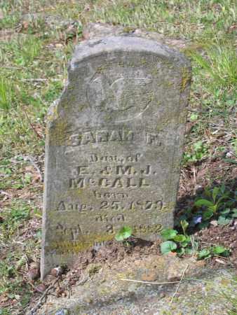 MCCALL, SARAH F - Lawrence County, Arkansas | SARAH F MCCALL - Arkansas Gravestone Photos