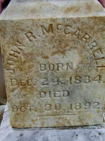 MCCARROLL (VETERAN CSA), JOHN RHEA - Lawrence County, Arkansas | JOHN RHEA MCCARROLL (VETERAN CSA) - Arkansas Gravestone Photos