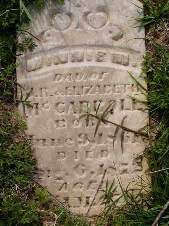MCCARROLL, MINNIE - Lawrence County, Arkansas   MINNIE MCCARROLL - Arkansas Gravestone Photos