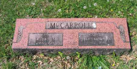 MCCARROLL, FLORENCE A. - Lawrence County, Arkansas | FLORENCE A. MCCARROLL - Arkansas Gravestone Photos