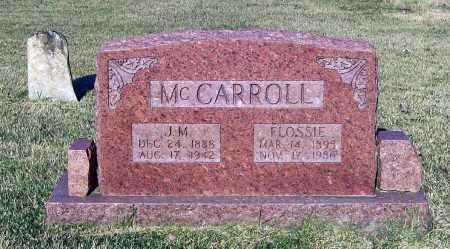 "MCCARROLL, JOSEPH MANSFIELD ""MANSE"" - Lawrence County, Arkansas | JOSEPH MANSFIELD ""MANSE"" MCCARROLL - Arkansas Gravestone Photos"