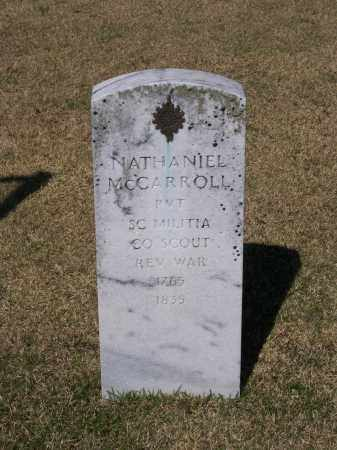 MCCARROLL (VETERAN RW), NATHANIEL - Lawrence County, Arkansas | NATHANIEL MCCARROLL (VETERAN RW) - Arkansas Gravestone Photos