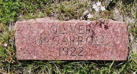 MCCARROLL, OLIVER - Lawrence County, Arkansas | OLIVER MCCARROLL - Arkansas Gravestone Photos