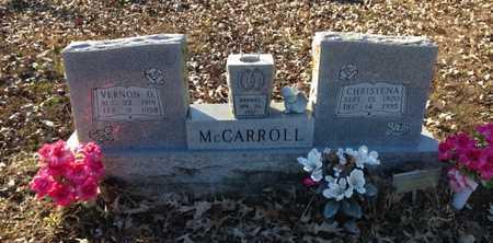 MCCARROLL, VERNON OCTAVIUS - Lawrence County, Arkansas | VERNON OCTAVIUS MCCARROLL - Arkansas Gravestone Photos